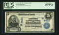 National Bank Notes:Wisconsin, Shawano, WI - $5 1902 Plain Back Fr. 606 The Wisconsin NB Ch. # (M)6403. ...