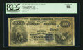 National Bank Notes:Wisconsin, Antigo, WI - $10 1882 Value Back Fr. 577 The First NB Ch. # (M)5143. ...