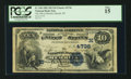 National Bank Notes:Wisconsin, Merrill, WI - $10 1882 Date Back Fr. 540 The NB of Merrill Ch. # (M)4736. ...