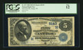 National Bank Notes:Wisconsin, Antigo, WI - $5 1882 Date Back Fr. 537 The First NB Ch. # (M)5143....