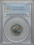 Straits Settlements, Straits Settlements: British Colony - Victoria 10 Cents 1896 MS63PCGS,...