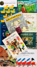 Books:Children's Books, [Children's] Group of Nine SIGNED Children's Books. Includes titlesby Shirley Hughes, Babette Cole, D. B. Johnson, David We... (Total:9 Items)