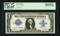 Fr. 238 $1 1923 Silver Certificate PCGS Choice About New 58PPQ
