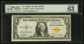 Small Size:World War II Emergency Notes, Fr. 2306 $1 1935A North Africa Silver Certificate. F-C Block. PMG Choice Uncirculated 63 EPQ.. ...