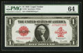 Large Size:Legal Tender Notes, Fr. 40 $1 1923 Legal Tender PMG Choice Uncirculated 64.. ...