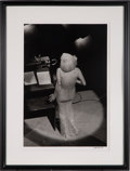 Movie/TV Memorabilia:Photos, A Marilyn Monroe Black and White Photograph by Bill Ray, 1962,1980s....