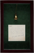 """Movie/TV Memorabilia:Costumes, An Ona Munson Hair Ornament from """"Gone With The Wind.""""..."""
