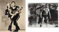 Movie/TV Memorabilia:Photos, Buster Crabbe and Kirk Alyn Photographs (Two) Signed.... (Total: 2)