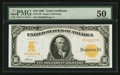 Large Size:Gold Certificates, Fr. 1169 $10 1907 Gold Certificate PMG About Uncirculated 50.. ...