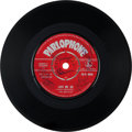 "Music Memorabilia:Autographs and Signed Items, Beatles Signed ""Love Me Do/ P.S. I Love You"" 45 (Parlophone R4949,1962)...."