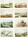 Books:Prints & Leaves, [United States Pacific Rail Road Surveys]. Group of Twenty-FiveColor Plates from the U.S.P.R.R. Expedition and Survey General...