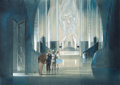 "Movie/TV Memorabilia:Original Art, A Pre-Production Concept Painting by Jack Martin Smith from ""TheWizard of Oz.""..."