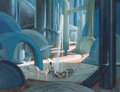 "Movie/TV Memorabilia:Original Art, A Pre-Production Concept Painting by Jack Martin Smith from ""The Wizard of Oz.""..."