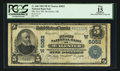National Bank Notes:Oklahoma, McAlester, OK - $5 1902 Plain Back Fr. 606 The First NB Ch. # (W)5052. ...