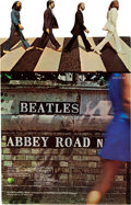 Music Memorabilia:Posters, Beatles Abbey Road Stand-up Counter Display (1969)....