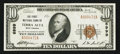 National Bank Notes:West Virginia, Terra Alta, WV - $10 1929 Ty. 1 The First NB Ch. # 6999. ...