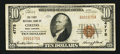 National Bank Notes:West Virginia, Ceredo, WV - $10 1929 Ty. 1 The First NB Ch. # 4775. ...