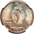 Philippines, Philippines: USA Administration 20 Centavos 1907-S MS65 NGC,...