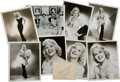 Movie/TV Memorabilia:Photos, Hope Hampton Group of Unsigned Photos (Eight) and an Album-PageAutograph.... (Total: 9 )