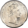 German States:Bavaria, German States: Bavaria. Ludwig I Taler 1826 MS65 NGC,...