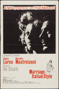 """Movie Posters:Foreign, Marriage Italian-Style (Embassy, 1964). One Sheets (2) (27"""" X 41"""") & Lobby Card Set of 8 (11"""" X 14""""). Foreign.. ... (Total: 10 Items)"""