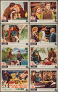 """Movie Posters:Adventure, Hills of Home (MGM, 1948). Lobby Card Set of 8 (11"""" X 14"""").Adventure.. ... (Total: 8 Items)"""