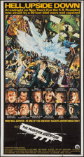 "Movie Posters:Action, The Poseidon Adventure (20th Century Fox, 1972). Three Sheet (41"" X77""). Action.. ..."