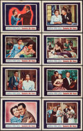 """Movie Posters:Romance, Goodbye, My Fancy (Warner Brothers, 1951). Lobby Card Set of 8 (11"""" X 14""""). Romance.. ... (Total: 8 Items)"""