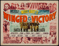 """Movie Posters:War, Winged Victory (20th Century Fox, 1944). Title Lobby Card (11"""" X14""""). War.. ..."""