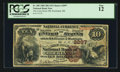 National Bank Notes:Maine, Rockland, ME - $10 1882 Brown Back Fr. 485 The Lime Rock NB Ch. #2097. ...