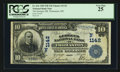 National Bank Notes:Maine, Thomaston, ME - $10 1902 Date Back Fr. 616 The Georges NB Ch. #(N)1142. ...