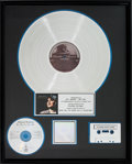 Music Memorabilia:Awards, Allison Krauss Now That I've Found You: A Collection RIAAPlatinum Record Award (Rounder Records 0325, 1995)....