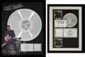 Music Memorabilia:Awards, Bob Seger and the Silver Bullet Band Greatest Hits RIAA Multi-Platinum Record Awards Group (Capitol Records 30334,... (Total: 2 Items)