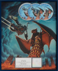 Music Memorabilia:Awards, Meatloaf Bat Out of Hell II: Back Into Hell RIAAMulti-Platinum Award (MCA, MCAD 10699, 1993)....