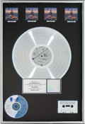 Music Memorabilia:Awards, Wilson Phillips Wilson Phillips RIAA Multi-Platinum RecordAward (SBK K1-93745, 1990)....
