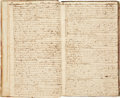 Books:Manuscripts, Ship's Log for the 18th Century Otter....