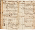 Books:Manuscripts, Ship's Log for the 18th Century Brig Hope....