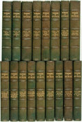 Books:Literature Pre-1900, George Gordon Byron. The Works. London: John Murray, 1832-3.Seventeen volumes. Twelvemo.... (Total: 17 Items)