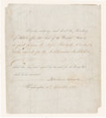 Autographs:Statesmen, Abraham Lincoln Document Signed...