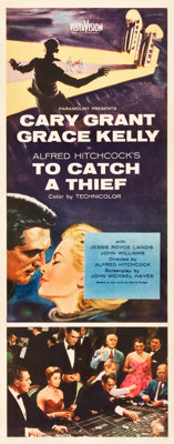 "To Catch a Thief (Paramount, 1955). Insert (14"" X 36"")"