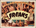 "Movie Posters:Horror, Freaks (Excelsior, R-1940s). Title Lobby Card (11"" X 14"").. ..."