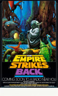 "Movie Posters:Science Fiction, The Empire Strikes Back (20th Century Fox, 1982). NPR Radio PromoPoster (17"" X 28"").. ..."