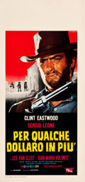 "Movie Posters:Western, For a Few Dollars More (PEA, 1966). Italian Locandina (13"" X27.5"").. ..."