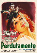 "Movie Posters:Romance, Humoresque (Warner Brothers, 1946). Italian Foglio (27.5"" X 39"")....."