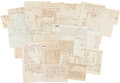 Autographs:Military Figures, [Revolutionary War]. Provisioning Documents....