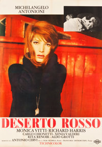 "The Red Desert (Cineriz, 1964). Italian 4 - Foglio (54.25"" X 78"")"