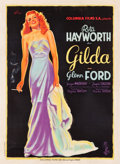 "Movie Posters:Film Noir, Gilda (Columbia, 1946). French Grande (46.5"" X 63.25"").. ..."