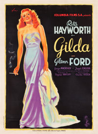 "Gilda (Columbia, 1946). French Grande (46.5"" X 63.25"")"