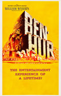 "Movie Posters:Academy Award Winners, Ben-Hur (MGM, 1959). One Sheet (27.5"" X 43"") Advance.. ..."