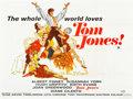 "Movie Posters:Academy Award Winners, Tom Jones (United Artists, 1963). British Quads (2) (30"" X 40"")Styles A & B.. ... (Total: 2 Items)"